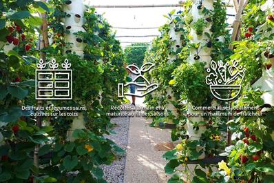 <b>AGRIPOLIS, pour une agriculture urbaine hyper-locale</b>
