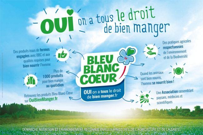 <b>BLEU BLANC CŒUR Agriculture à vocation santé</b>