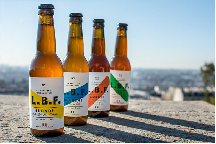 <b>L.B.F, une brasserie de bière artisanale proche des champs d'orge</b>