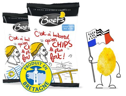 <b>BRET'S, la chips bretonne naturelle et 100% française</b>