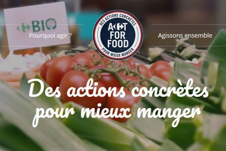 <b>CARREFOUR Act for food</b>