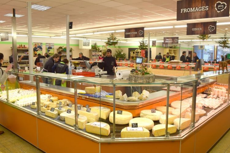 <b>CŒUR PAYSAN Supermarché circuits courts</b>
