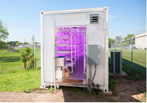 <b>GEO POUSSE TOUT, ferme verticale innovante en Centre VDL</b>