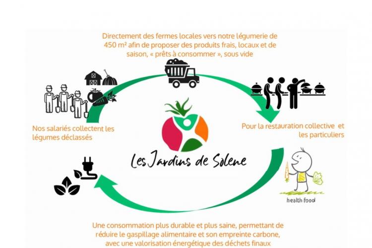 LES JARDINS DE SOLENE, une légumerie solidaire et responsable