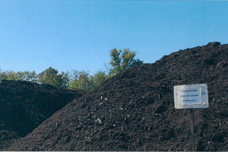 <b>LA CAVALE Compost marc de raisin</b>