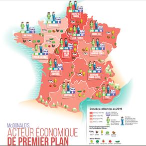 <b>McDonald's, pour l'économie française et la création d'emplois</b>