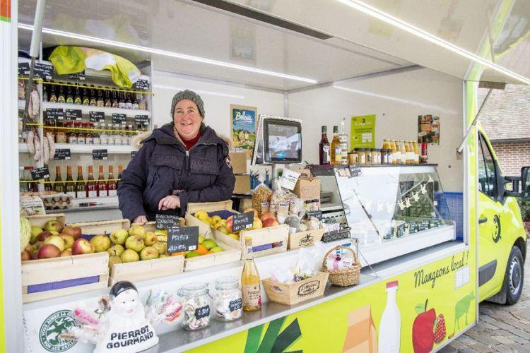 <b>LA SOLOGN'HOTTE, Un commerce ambulant de produits locaux en Sologne</b>