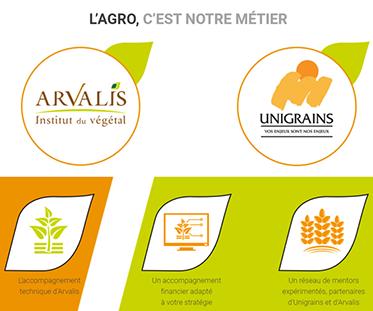 <b>UNILIS AGTECH, pour l'agriculture de demain</b>